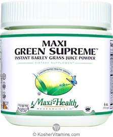 Maxi Health Kosher Maxi Green Supreme 6 OZ
