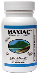 Maxi Health Kosher MaxiAC 60 Vegicaps