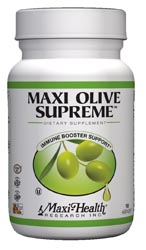 Maxi Health Kosher Maxi Olive Supreme 90 Vegetable Capsules