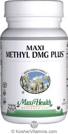 Maxi Health Kosher Maxi Methyl DMG Plus 60 MaxiCaps