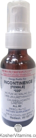 Micro-Nutrition Plus Kosher Energy Profile for Incontinence Female 1 OZ