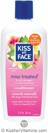 Kiss My Face Miss Treated Conditioner with Moroccan Argan Oil 11 OZ
