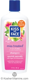Kiss My Face Miss Treated Shampoo with Moroccan Argan Oil 11 OZ