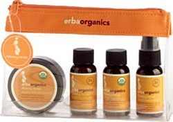 Erbaorganics Mommy Travel Kit 4 Piece 1 Kit