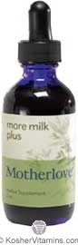Motherlove Kosher More Milk Plus 2 OZ