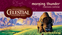 Celestial Seasonings Kosher Morning Thunder 20 Bag