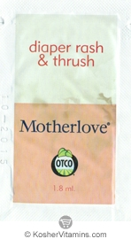 Motherlove Diaper Rash & Thrush - Free with a $49 Purchase 1 Packet