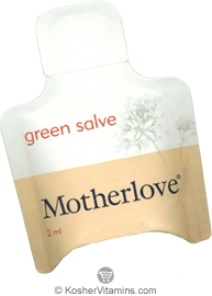 Motherlove Green Salve - Free with a $49 Purchase 1 Packet