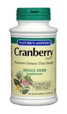 Natures Answer Kosher Cranberry Fruit 90 Vegicaps