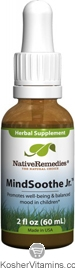 Native Remedies Kosher MindSoothe Jr. 2 OZ