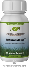 Native Remedies Kosher Natural Moves 60 Vegetable Capsules