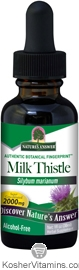 Natures Answer Kosher Milk Thistle 2,000 Mg Alcohol Free 1 OZ