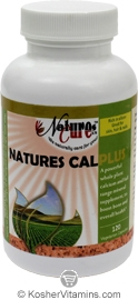 Natures Cure Kosher Natures Cal Plus (Calcium) 120 Capsules