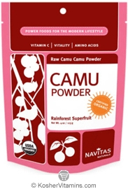 Navitas Naturals Kosher Camu Powder Raw Organic 3 OZ