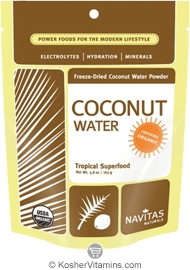 Navitas Naturals Kosher Coconut Water Powder Organic 5.8 OZ