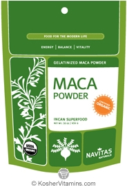 Navitas Naturals Kosher Maca Gelatinized Powder Organic 16 OZ