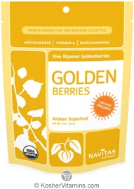 Navitas Naturals Kosher Golden Berries Organic 8 OZ