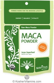 Navitas Naturals Kosher Maca Powder Raw Organic 7.1 OZ