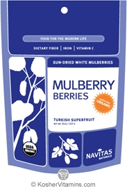 Navitas Naturals Kosher Mulberry Berries Organic 4 OZ