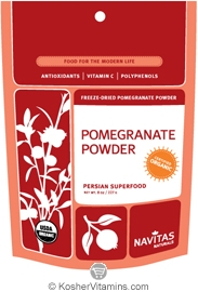 Navitas Naturals Kosher Pomegranate Powder Raw Organic 8 OZ