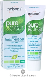 Nelsons Pure & Clear Acne Treatment Gel 1 OZ