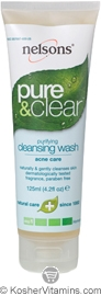 Nelsons Pure & Clear Purifying Cleansing Wash 4.2 OZ