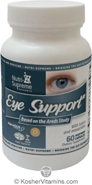 Nutri-Supreme Research Kosher Eye Support 60 Vegetarian Capsules
