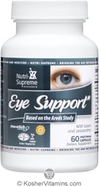 Nutri-Supreme Research Kosher Eye Support Exp 05/16 60 Vegetarian Capsules