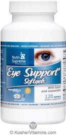 Nutri-Supreme Research Kosher Eye Support  120 Softgels