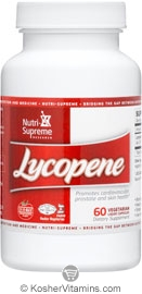Nutri-Supreme Research Kosher Lycopene (Lyc-O-Mato) 15 Mg  BUY 1 GET 1 FREE  60 Vegetarian Liquid Capsules