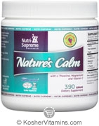 Nutri-Supreme Research Kosher Nature's Calm Powder Grape Flavor 390 Grams