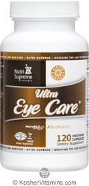 Nutri-Supreme Research Kosher Ultra Eye Care 120 Vegetarian Capsules