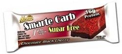 NuGo Nutrition Kosher Smarte Carb Bar Chocolate Black Cherry Sugar Free Dairy 12 Bars