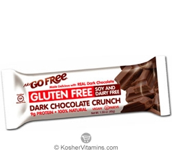 NuGo Nutrition Kosher Free Bar Dark Chocolate Crunch Gluten Free Parve 1 Bar