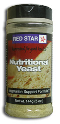 Red Star Kosher Nutritional Yeast Vegetarian Support Formula VSF Mini Flake 5 Oz.