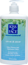 Kiss My Face Moisturizer Olive & Aloe 16 OZ