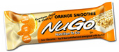 NuGo Nutrition Kosher Nutrition To Go 11g Protein Bar Orange Smoothie Dairy 15 Bars