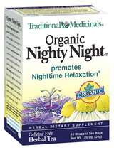 Traditional Medicinals Kosher Organic Nighty Night 16 Tea Bags