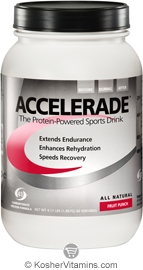 Pacific Health Kosher Accelerade Protein-Powered Sports Drink Dairy Fruit Punch Flavor 4.11 LB