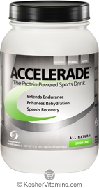 Pacific Health Kosher Accelerade Protein-Powered Sports Drink Dairy Lemon Lime Flavor 4.11 LB