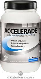 Pacific Health Kosher Accelerade Protein-Powered Sports Drink Dairy Mountin Berry Flavor 4.11 LB