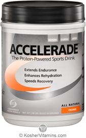 Pacific Health Kosher Accelerade Protein-Powered Sports Drink Dairy Orange Flavor 2.06 LB