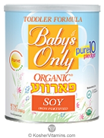 Natures One Kosher Baby's Only Organic Toddler Formula Parve Soy Iron Fortified 12.7 OZ