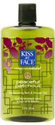 Kiss My Face Bath & Shower Gel Peaceful Patchouli  16 OZ