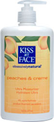 Kiss My Face Moisturizer Peaches & Cream 16 OZ