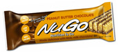NuGo Nutrition Kosher Nutrition To Go 11g Protein Bar Peanut Butter Chocolate Dairy 15 Bars