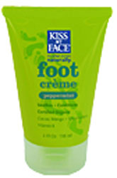 Kiss My Face Foot Creme Peppermint 4 OZ