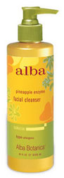 Alba Botanica Pineapple Enzyme Facial Cleanser 4 OZ
