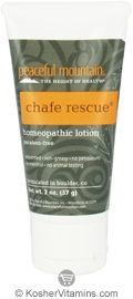 Peaceful Mountain Chafe Rescue Homeopathic Lotion 2 OZ