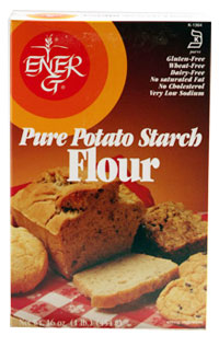 Ener-G Foods Kosher Pure Potato Starch Flour 1 LB